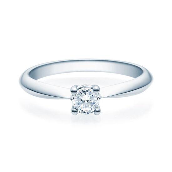 Enstens diamantring Naima med 0,25 ct TW-Si i platina -18009025pt