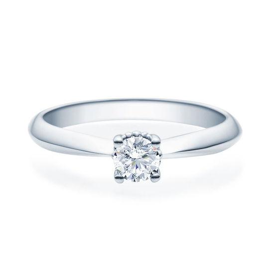 Enstens diamantring Naima med 0,30 ct TW-Si i platina -18009030pt