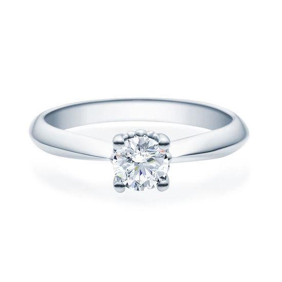 Enstens diamantring Naima med 0,40 ct TW-Si i platina -18009040pt