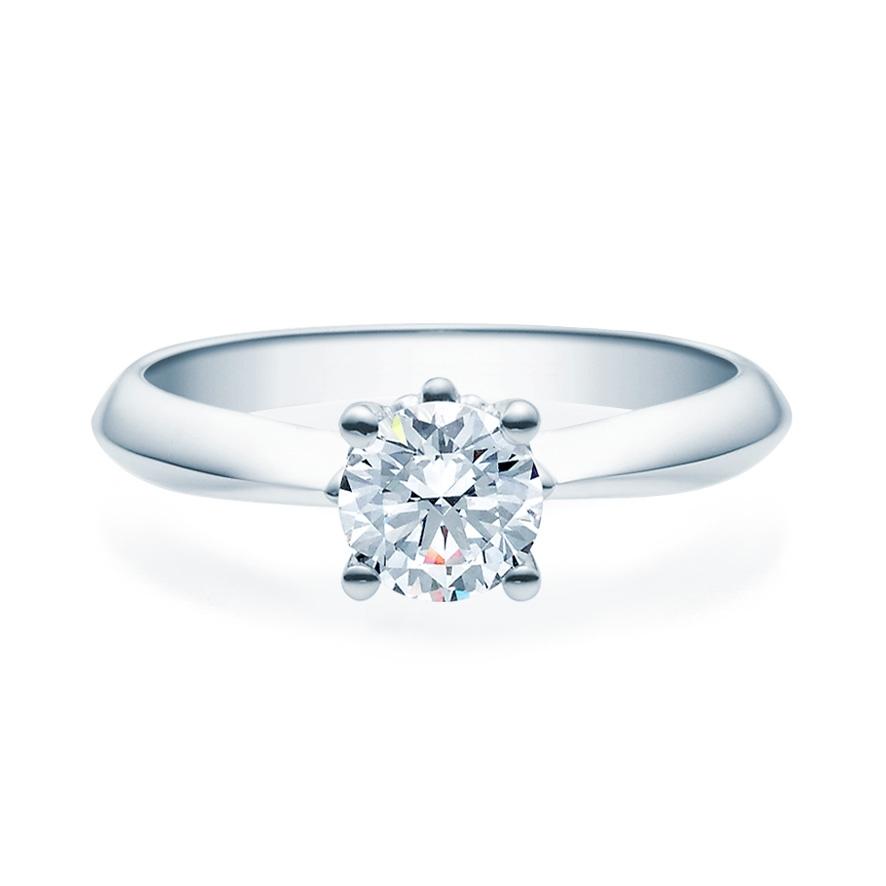 Enstens diamantring Naima med 0,70 ct TW-Si i platina -18009070pt
