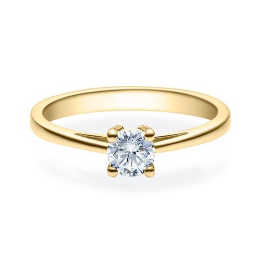 Enstens diamantring Soria med 0,40 ct i 14kt gull. TW-Si. -18010040