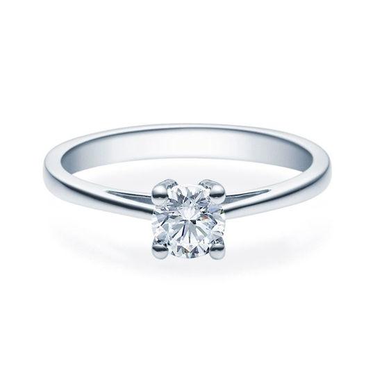Enstens diamantring Soria med 0,50 ct i 14kt gull. TW-Si. -18010050