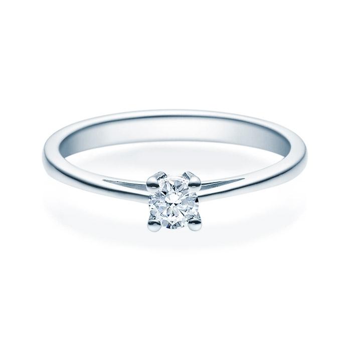 Enstens diamantring Soria med 0,20 ct TW-Si i platina -18010020pt
