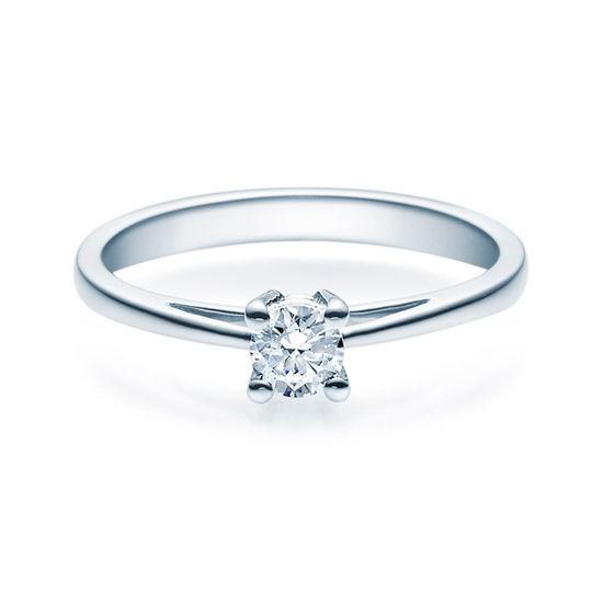 Enstens diamantring Soria med 0,25 ct TW-Si i platina -18010025pt
