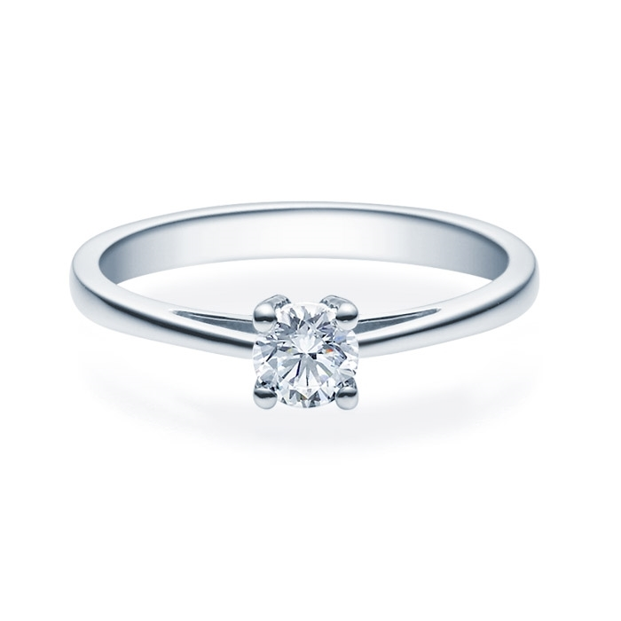 Enstens diamantring Soria med 0,30 ct TW-Si i platina -18010030pt