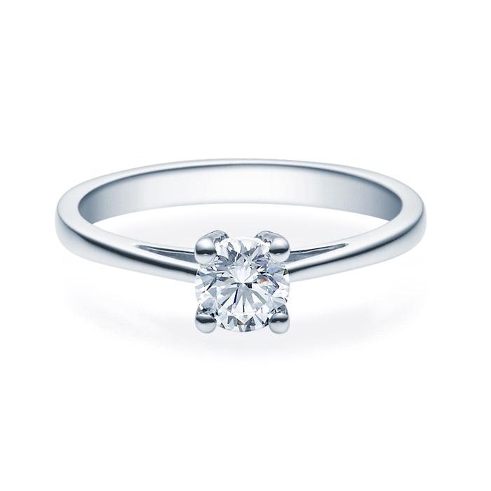 Enstens diamantring Soria med 0,50 ct TW-Si i platina -18010050pt