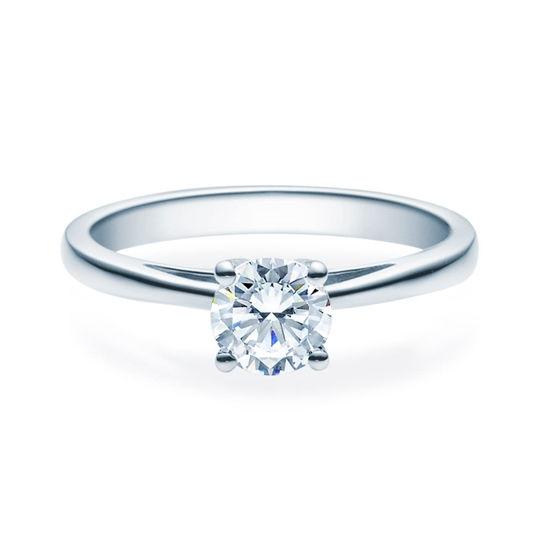 Enstens diamantring Soria med 0,70 ct TW-Si i platina -18010070pt