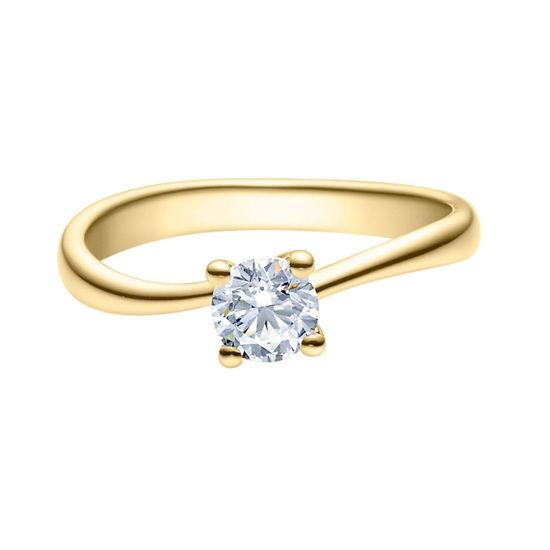 Enstens diamantring Melina med 0,50 ct i 14kt gull. TW-Si. -18011050