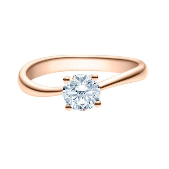 Enstens diamantring Melina med 0,70 ct i 14kt gull. TW-Si. -18011070