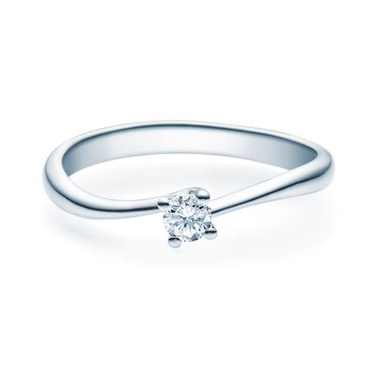 Enstens diamantring Melina med 0,16 ct TW-Si i platina -18011016pt