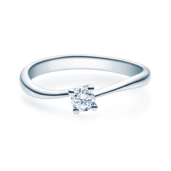 Enstens diamantring Melina med 0,20 ct TW-Si i platina -18011020pt