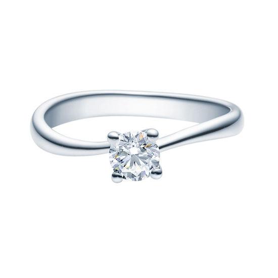 Enstens diamantring Melina med 0,40 ct TW-Si i platina -18011040pt