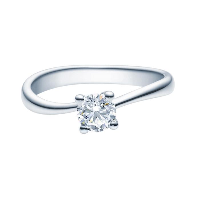 Enstens diamantring Melina med 0,50 ct TW-Si i platina -18011050pt