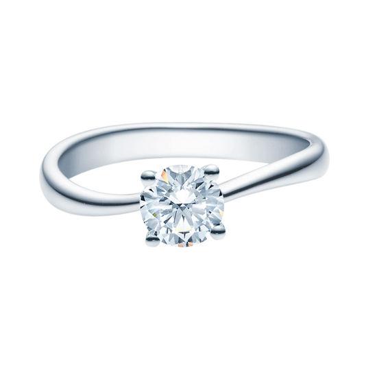 Enstens diamantring Melina med 0,70 ct TW-Si i platina -18011070pt