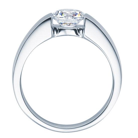 Enstens diamantring med 1,00 ct TW-Si i platina -18012100pt