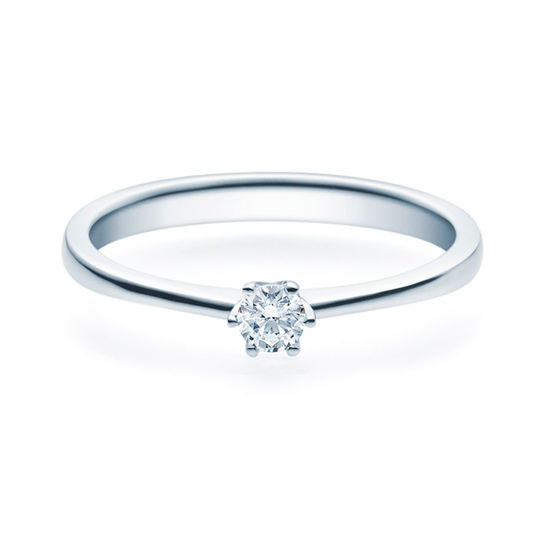 Enstens diamantring Aida med 0,16 ct i 14kt gull. TW-Si. -18016016