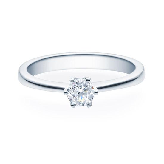 Enstens diamantring Aida med 0,30 ct i 14kt gull. TW-Si. -18016030