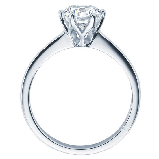 Enstens diamantring Aida med 1,00 ct i 14kt gull. TW-Si. -18016100