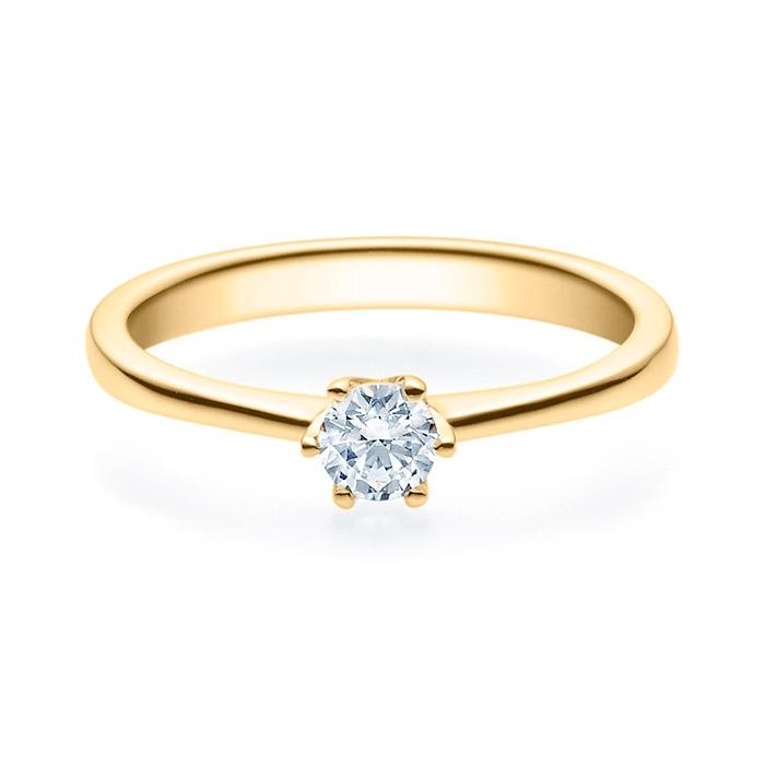 Enstens diamantring Aida med 0,25 ct i 14kt gull. TW-Si. -18016025