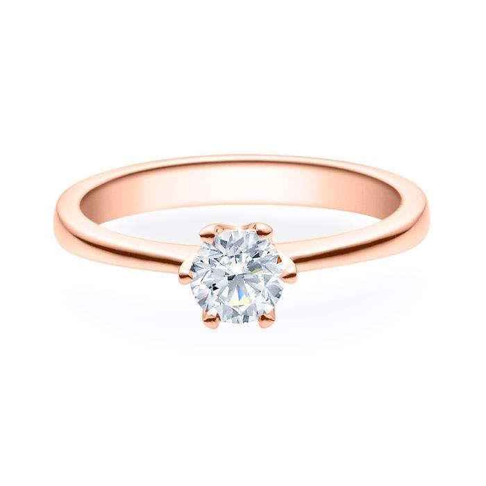 Enstens diamantring Aida med 0,50 ct i 14kt gull. TW-Si. -18016050