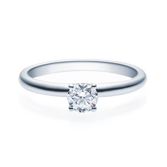 Enstens diamantring Jasmina med 0,40 ct TW-Si i platina -18018040pt