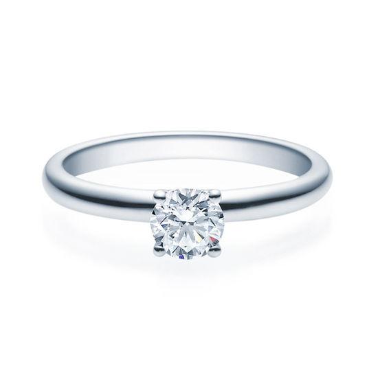 Enstens diamantring Jasmina med 0,50 ct TW-Si i platina -18018050pt