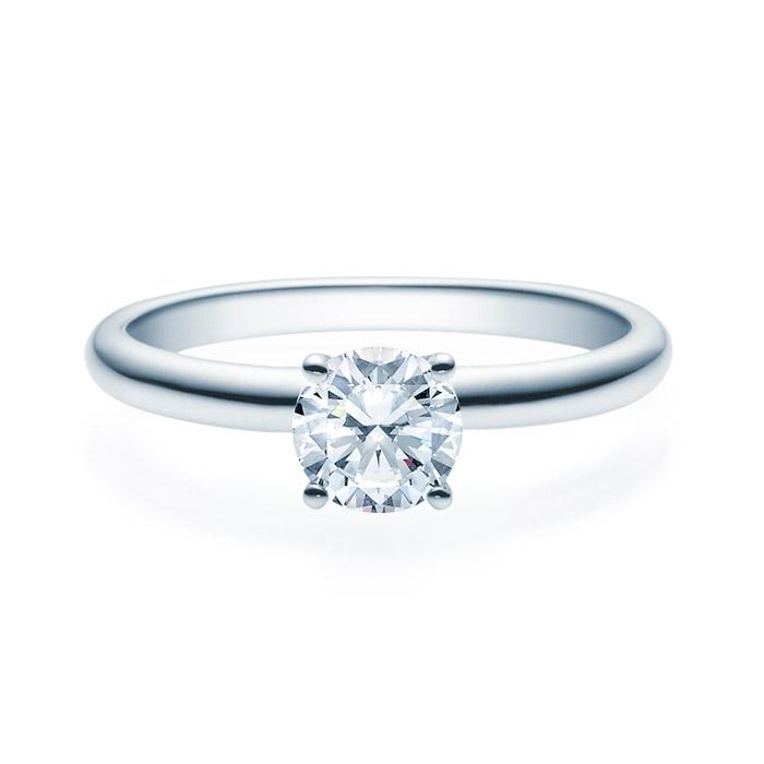 Enstens diamantring Jasmina med 0,70 ct TW-Si i platina -18018070pt