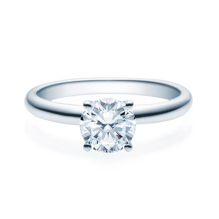Enstens diamantring Jasmina med 1,00 ct TW-Si i platina -18018100pt