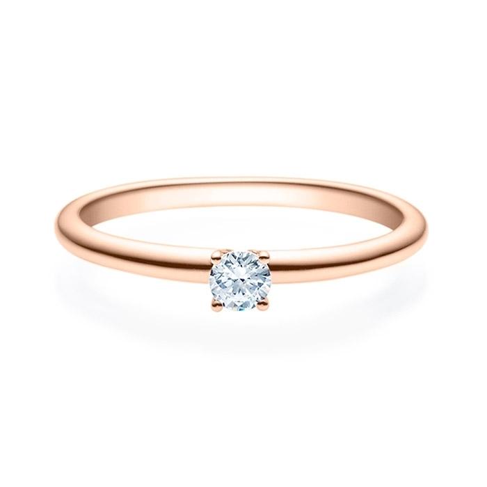 Enstens diamantring Jasmina m/0,20 ct i 14kt gull. TW-Si. -18018020