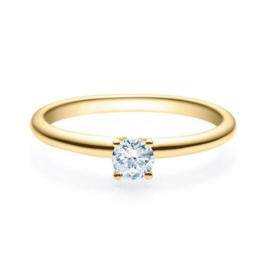 Enstens diamantring Jasmina m/0,25 ct i 14kt gull. TW-Si. -18018025