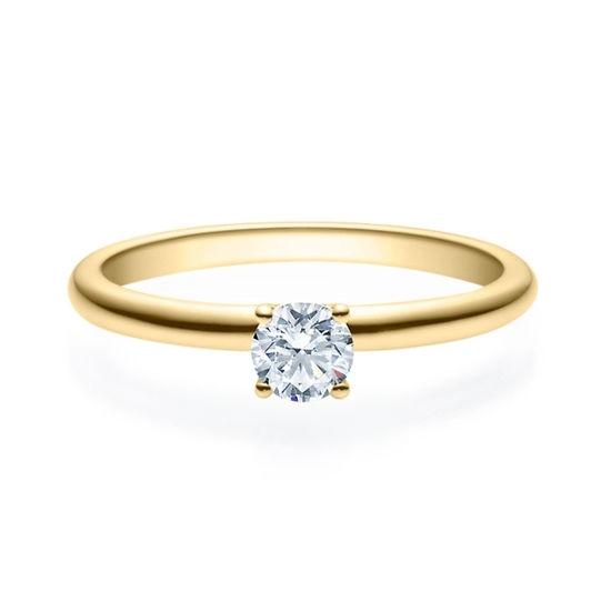 Enstens diamantring Jasmina m/0,30ct i 14kt gull. TW-Si. -18018030