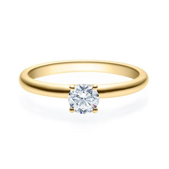 Enstens diamantring Jasmina m/0,40 ct i 14kt gull. TW-Si. -18018040