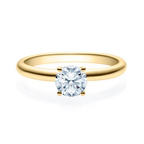 Enstens diamantring Jasmina m/0,70 ct i 14kt gull. TW-Si. -18018070
