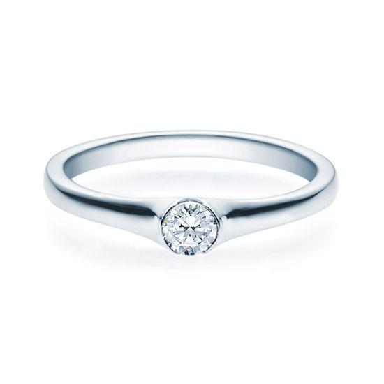 Enstens diamantring med 0,20 ct TW-Si i platina -18022020pt
