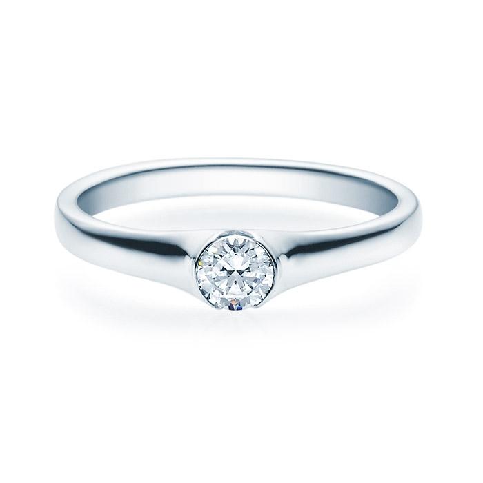 Enstens diamantring med 0,25 ct TW-Si i platina -18022025pt
