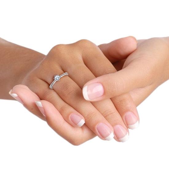 illustrasjon med hånd av gifteringer -18001040