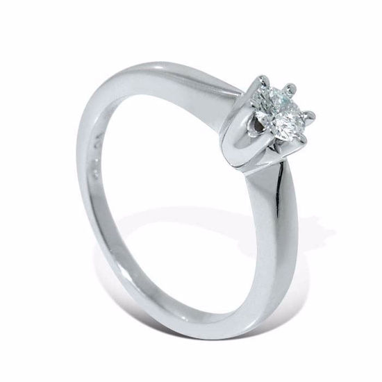 Diamantring forlovelsesring  Ida 0,20 ct W-Si - COC00986