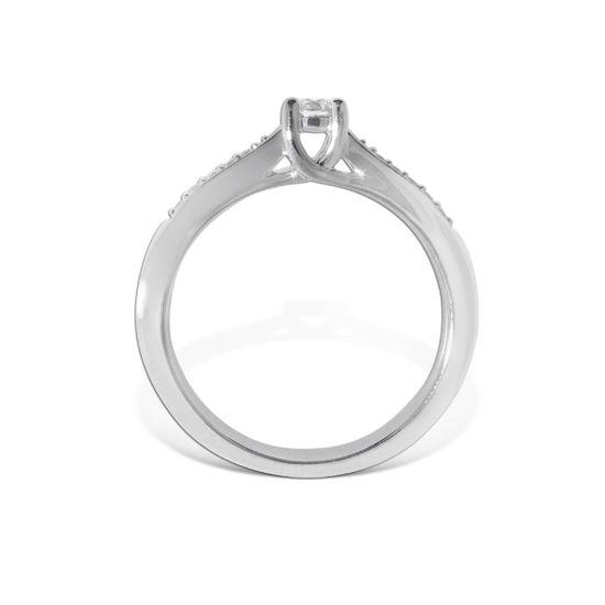 Diamantring Azur med 0,20 ct W-Si - ABR00874-2