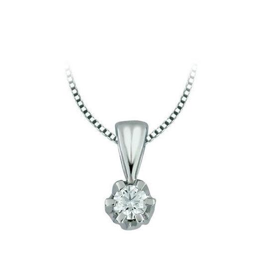 Diamantsmykke Sitara i gull med 0,22 ct W-Si-322122