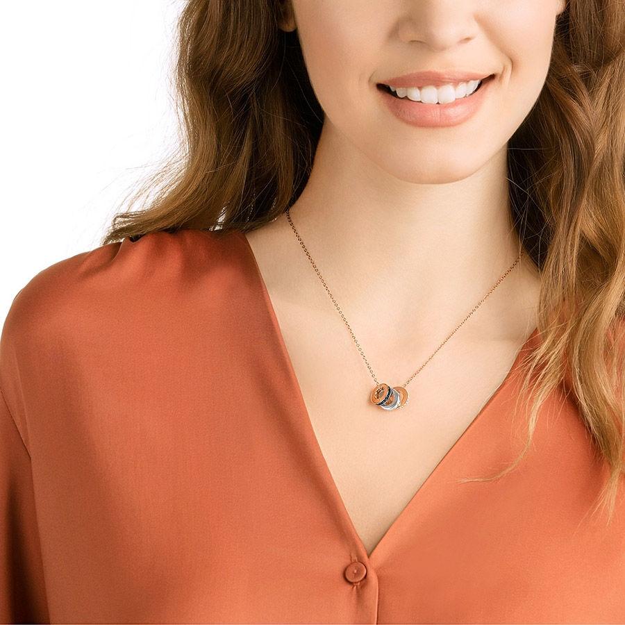 Swarovski smykke Hint Pendant, Multi-colored, Mixed metal finish  - 5353666