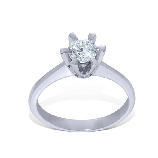 Diamantring Felicia med 0,50 ct D-Si2 - 22030500