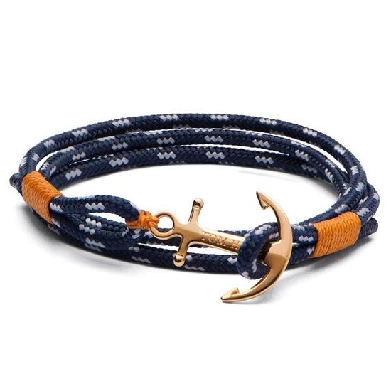 Tom Hope armbånd i forgylt sølv - TM011