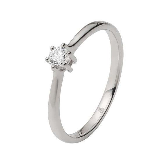 Enstens diamantring Ja! med 0,16 ct i 9kt gull. TW-Si. -5100014