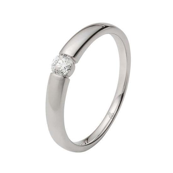Enstens diamantring Ja! med 0,16 ct i 9kt gull. TW-Si. -5100029