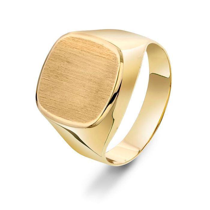Herre ring i gull 14 kt - 972313