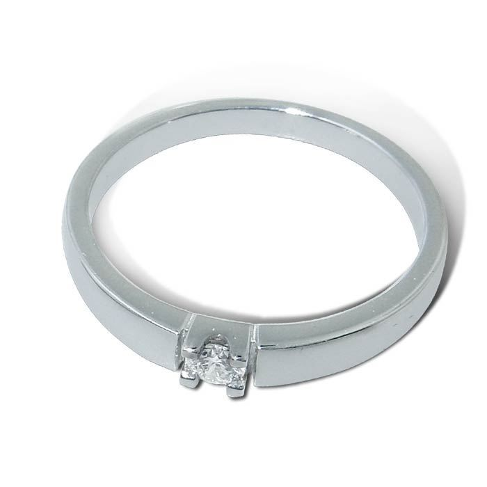 Diamantring Iselin med 0,10 ct TW-Si-8501010