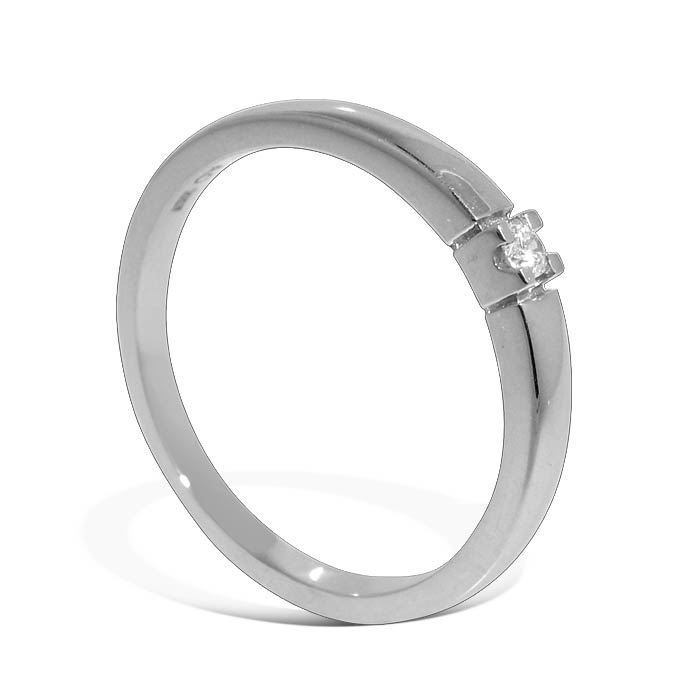 Diamantring Iselin med 0,03 ct TW-Si-8501003