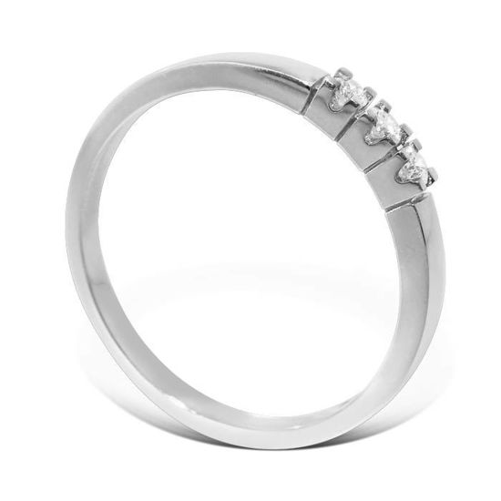Diamantring Iselin med 3x0,03 ct TW-Si-8503030