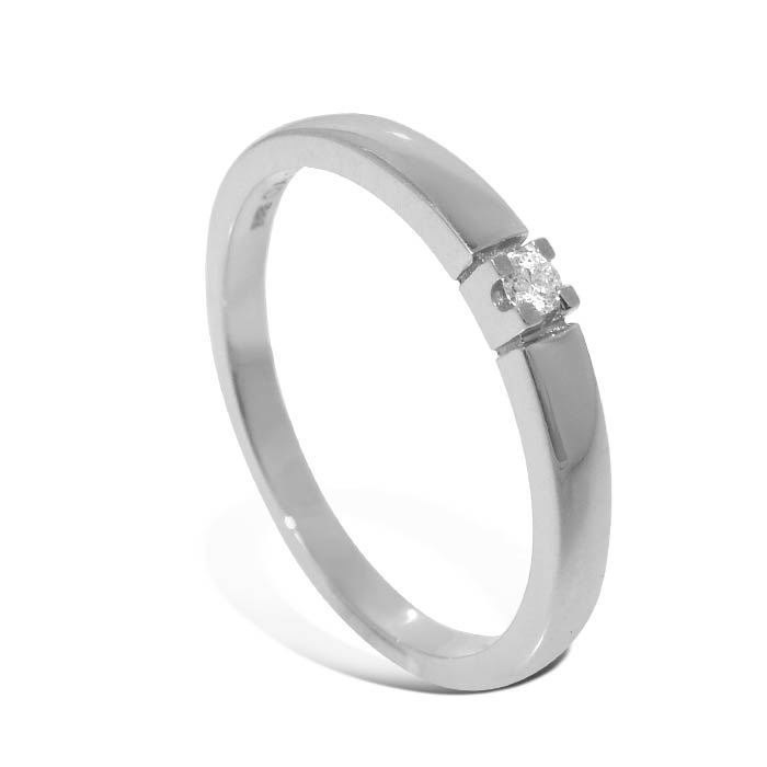 Diamantring Iselin med 0,03 ct TW-Si-850100