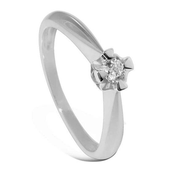 Diamantring Evita med 0,10 ct W-Si-50110